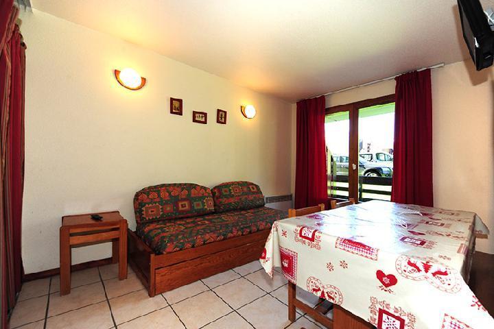 Vacances en montagne Appartement 2 pièces cabine 6 personnes (050) - Résidence les Balcons d'Olympie - Les Menuires - Séjour