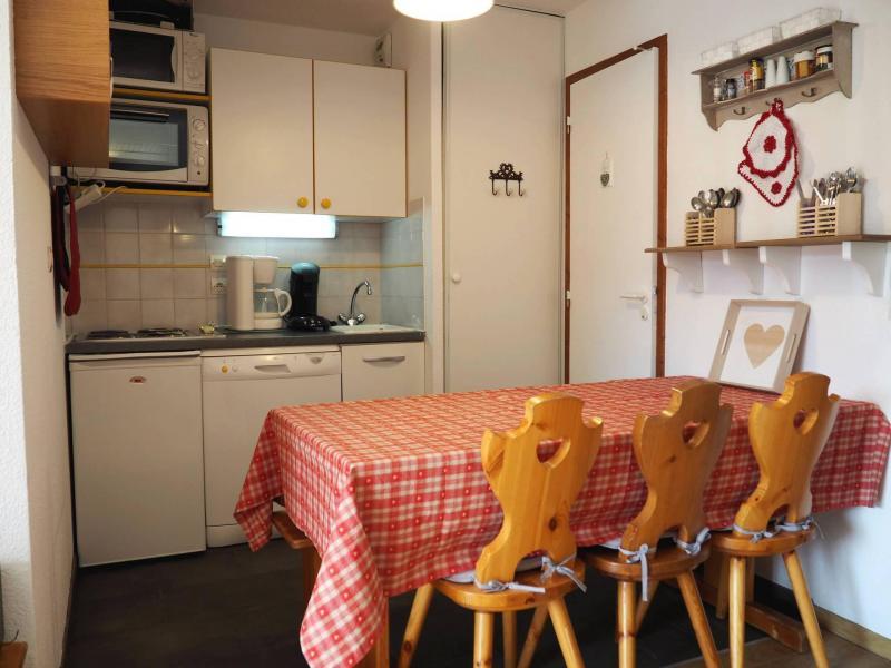 Vacances en montagne Appartement 2 pièces cabine 6 personnes (109) - Résidence les Balcons d'Olympie - Les Menuires - Kitchenette