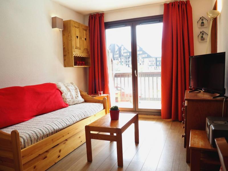 Vacances en montagne Appartement 2 pièces cabine 6 personnes (109) - Résidence les Balcons d'Olympie - Les Menuires - Séjour