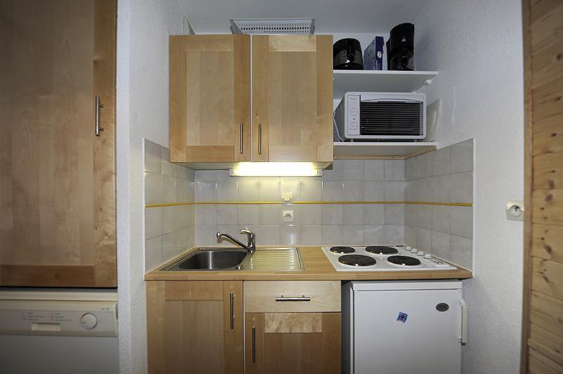 Vacances en montagne Appartement 2 pièces cabine 6 personnes (535) - Résidence les Balcons d'Olympie - Les Menuires - Kitchenette