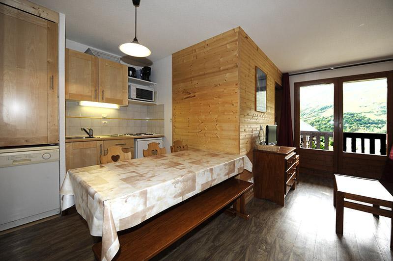 Vacances en montagne Appartement 2 pièces cabine 6 personnes (535) - Résidence les Balcons d'Olympie - Les Menuires - Séjour