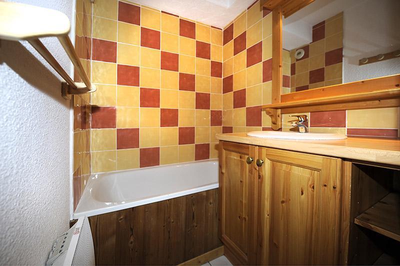 Vacances en montagne Appartement 2 pièces cabine mezzanine 8 personnes (640) - Résidence les Balcons d'Olympie - Les Menuires - Salle de bains