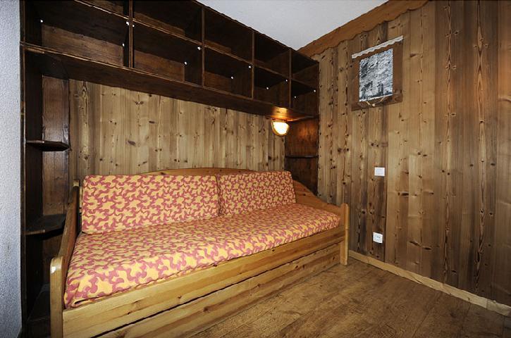 Vacances en montagne Appartement 2 pièces mezzanine 8 personnes (639) - Résidence les Balcons d'Olympie - Les Menuires - Banquette