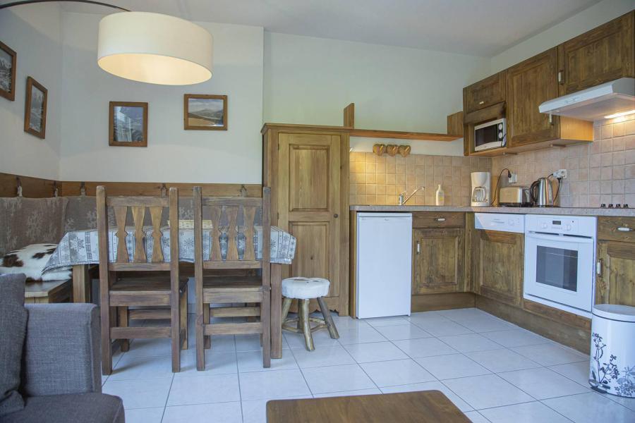 Wakacje w górach Apartament 2 pokojowy kabina 4 osób (6) - Résidence les Balcons de Pramouton - Les Orres - Jadalnia