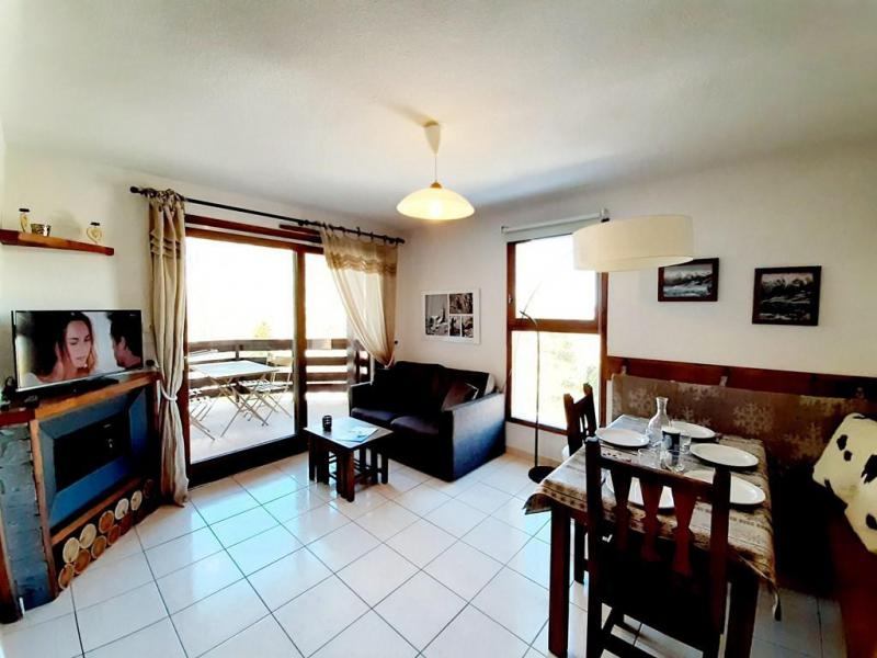 Wakacje w górach Apartament 2 pokojowy kabina 4 osób (6) - Résidence les Balcons de Pramouton - Les Orres - Pokój gościnny