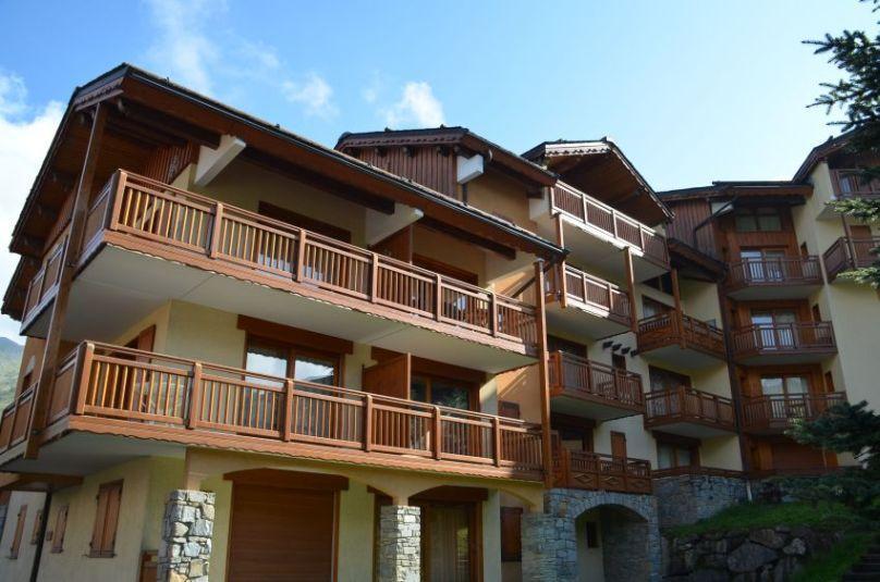 Holiday in mountain resort Résidence les Balcons de Tougnette - Saint Martin de Belleville