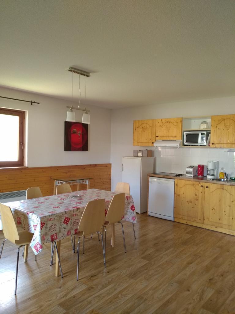 Wakacje w górach Apartament 3 pokojowy 6 osób - Résidence les Balcons du Recoin By Resid&Co - Chamrousse - Aneks kuchenny