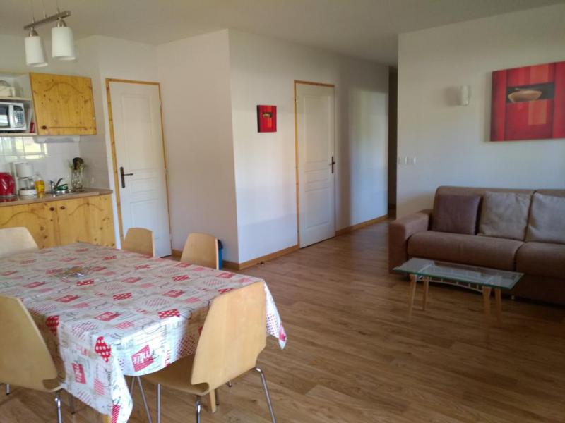 Vacances en montagne Appartement 3 pièces 6 personnes - Résidence les Balcons du Recoin By Resid&Co - Chamrousse - Séjour