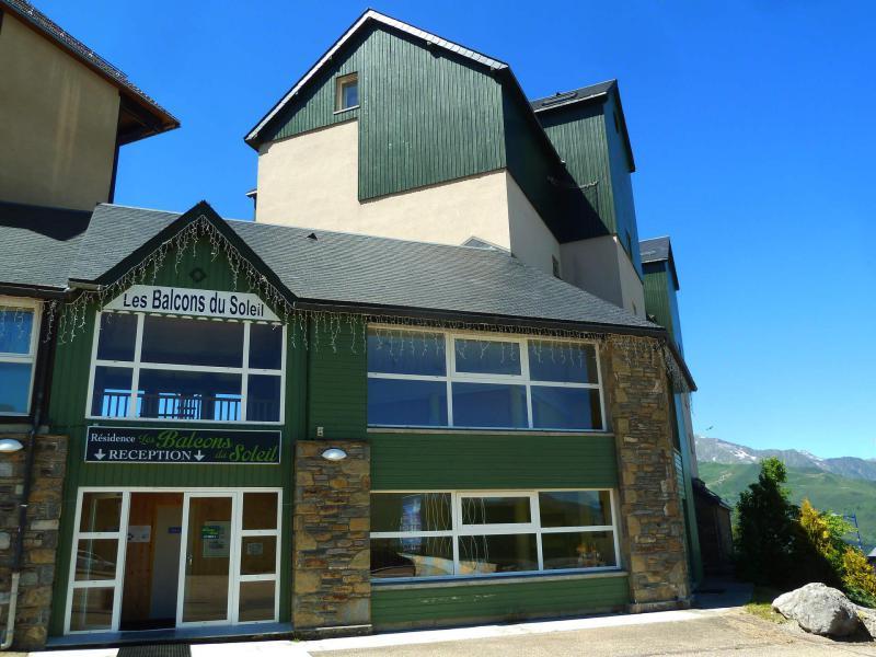 Location au ski Studio cabine 4 personnes (07B) - Residence Les Balcons Du Soleil - Peyragudes - Extérieur été