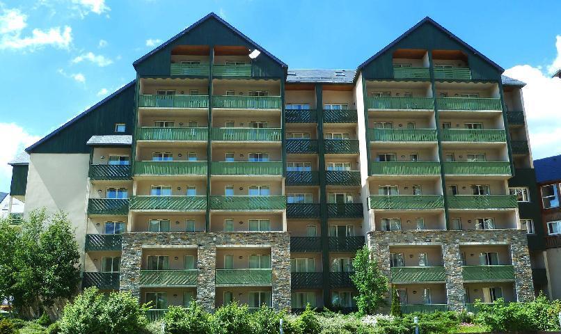 Location au ski Residence Les Balcons Du Soleil - Peyragudes - Extérieur été