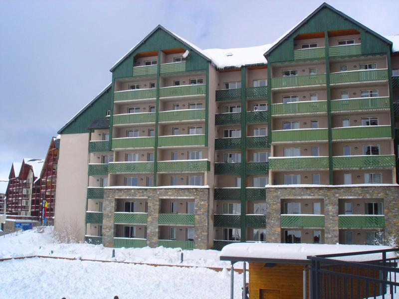 Holiday in mountain resort 2 room apartment 4 people (35B) - Résidence les Balcons du Soleil - Peyragudes