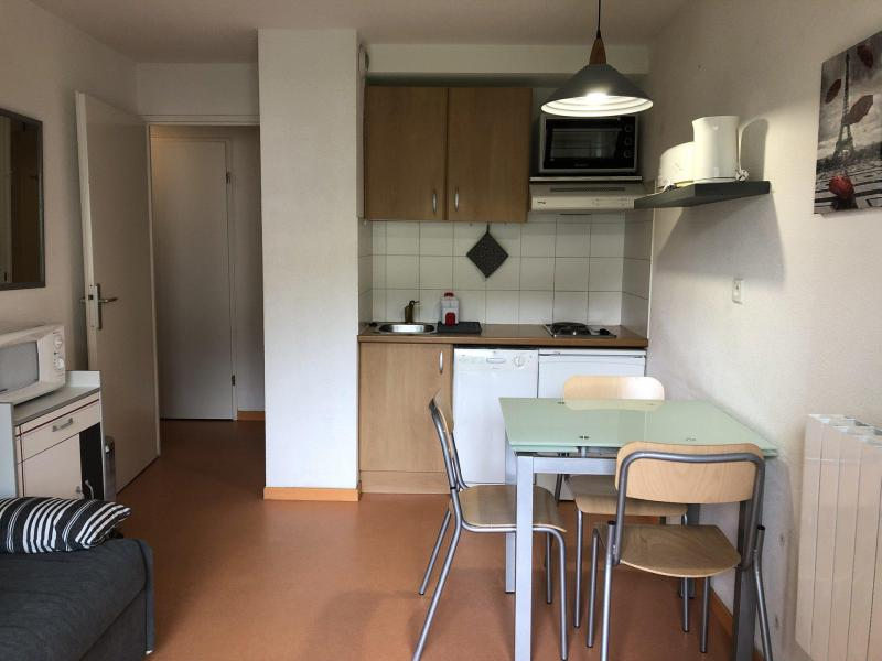 Holiday in mountain resort Studio cabin 4 people (54B) - Résidence les Balcons du Soleil - Peyragudes - Kitchenette