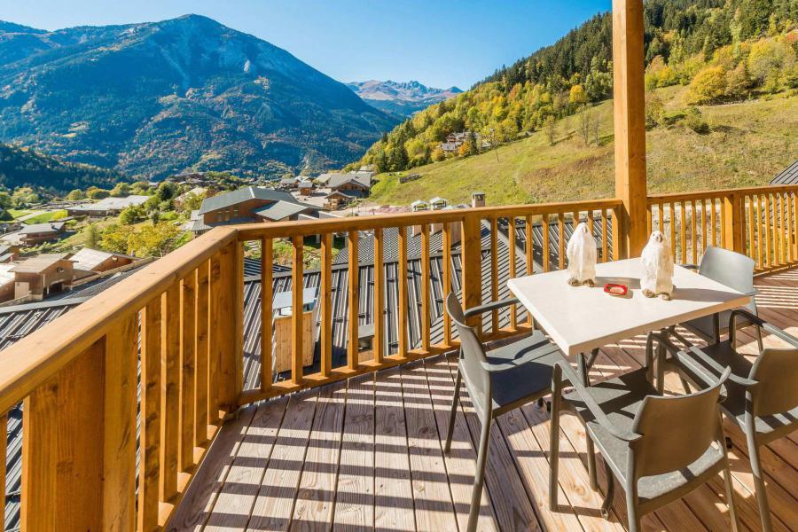 Location au ski Appartement duplex 4 pièces 10 personnes (B24) - Résidence les Balcons Etoilés - Champagny-en-Vanoise - Balcon