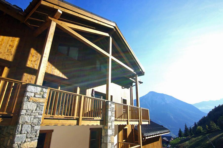 Location au ski Appartement 4 pièces 8 personnes (B21) - Résidence les Balcons Etoilés - Champagny-en-Vanoise - Extérieur été