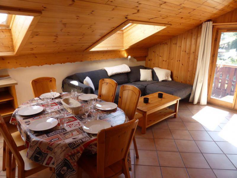 Vacaciones en montaña Apartamento 4 piezas para 8 personas (238) - Résidence les Bergers - Les Contamines-Montjoie