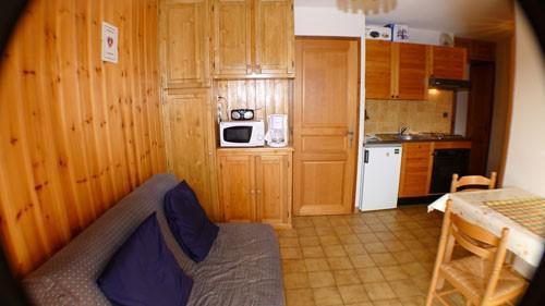 Vacaciones en montaña Apartamento 2 piezas para 4 personas (CAST22) - Résidence les Campannes - Samoëns