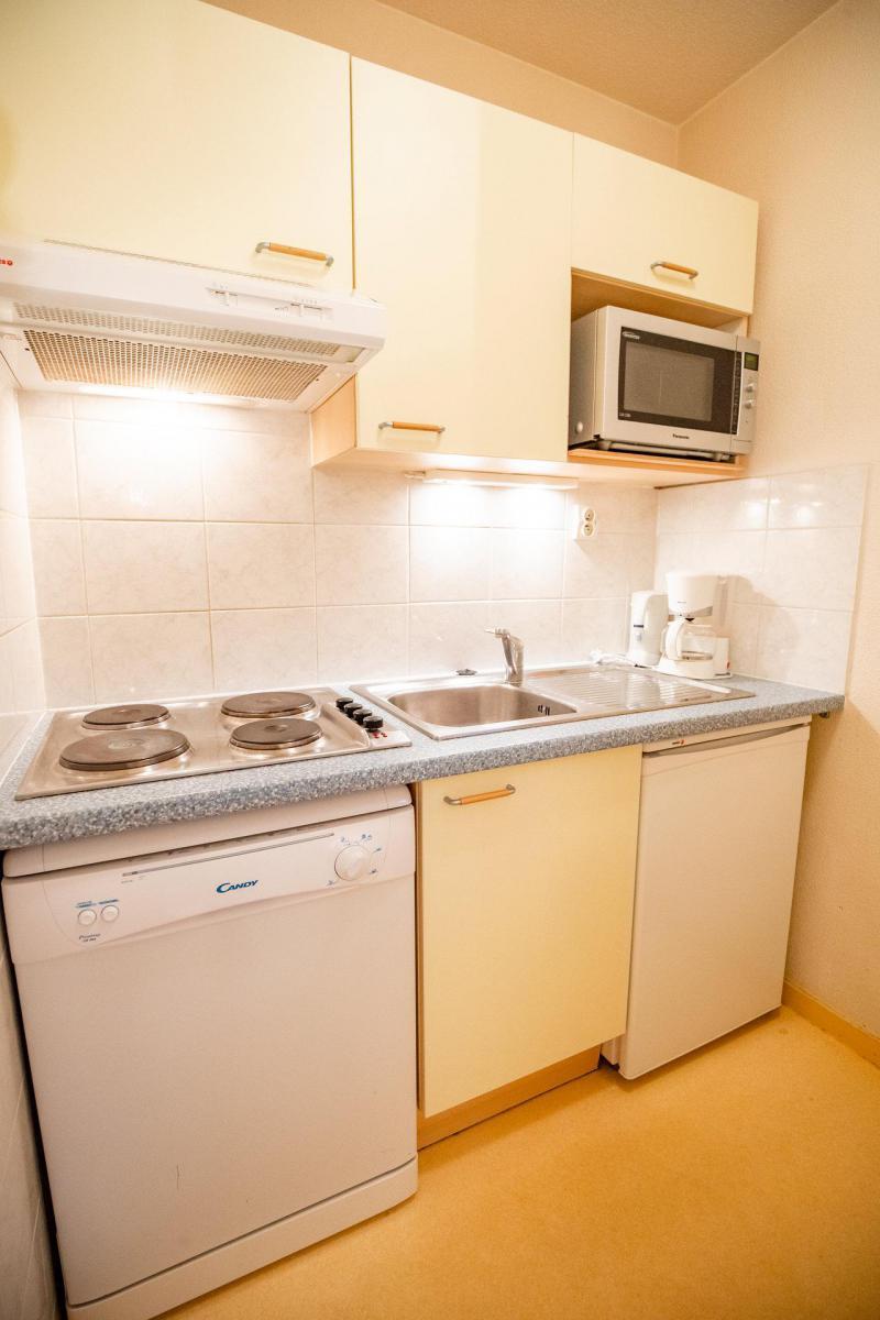 Vacaciones en montaña Apartamento cabina 2 piezas para 6 personas (CA52FC) - Résidence les Campanules - La Norma - Sofá-cama