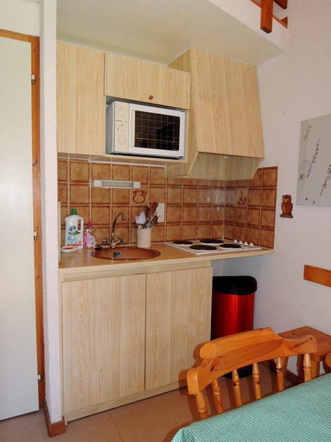 Vakantie in de bergen Appartement duplex 2 kamers bergnis 6 personen (31) - Résidence les Campanules - Châtel - Keukenblok