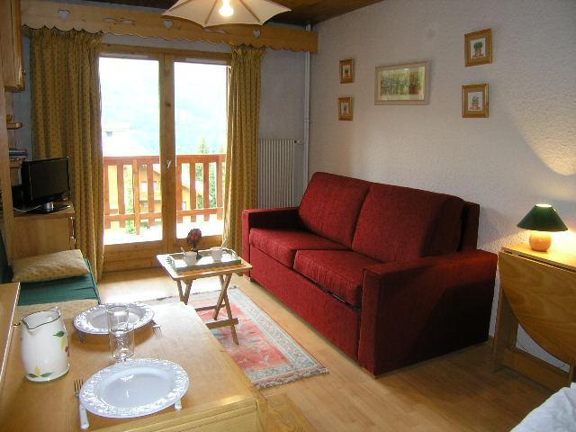 Vacances en montagne Appartement 2 pièces 4 personnes (E7) - Résidence les Carlines - Méribel - Séjour