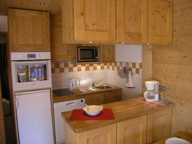 Vacances en montagne Appartement 2 pièces 5 personnes (D16) - Résidence les Carlines - Méribel - Kitchenette