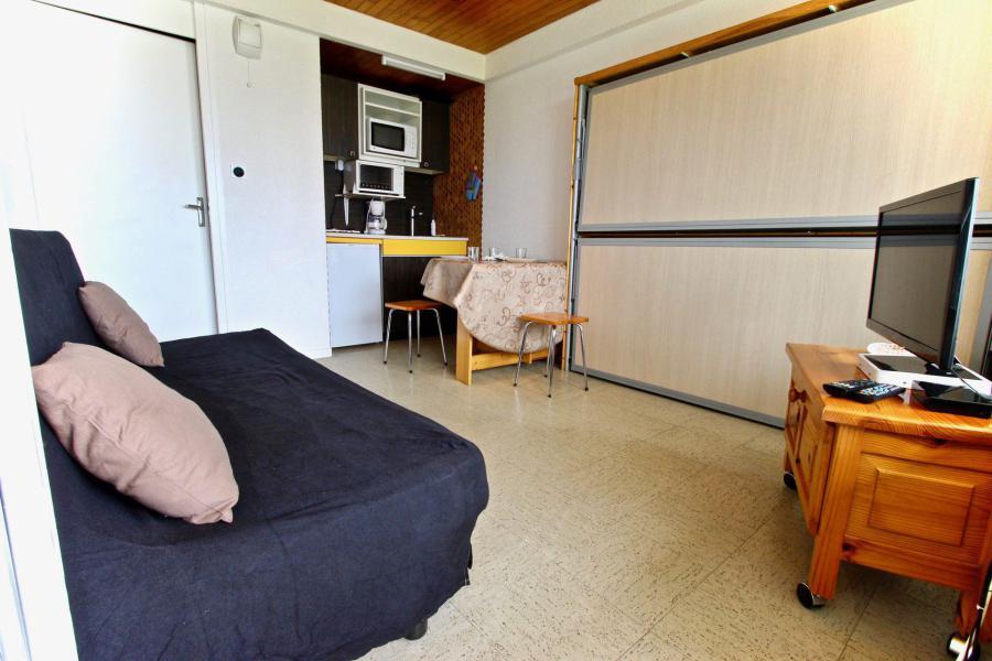 Vacances en montagne Studio 3 personnes (002) - Résidence les Carlines - Chamrousse - Canapé-lit