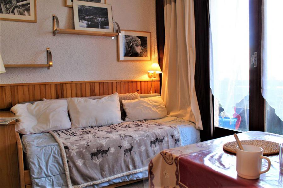 Vacaciones en montaña Apartamento cabina para 4 personas (17) - Résidence les Chabrières I - Risoul - Sofá-cama