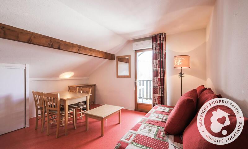 Wakacje w górach Apartament 2 pokojowy 4 osób (Confort 26m²) - Résidence les Chalets D'aurouze - Maeva Home - La Joue du Loup - Pokój gościnny