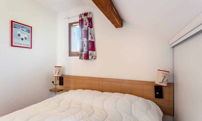 Wakacje w górach Apartament 2 pokojowy 4 osób (Confort 26m²) - Résidence les Chalets D'aurouze - Maeva Home - La Joue du Loup - Ławką
