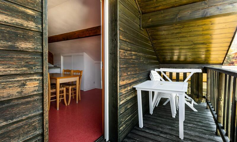 Wakacje w górach Apartament 2 pokojowy 4 osób (Confort 26m²) - Résidence les Chalets D'aurouze - Maeva Home - La Joue du Loup - Balkon