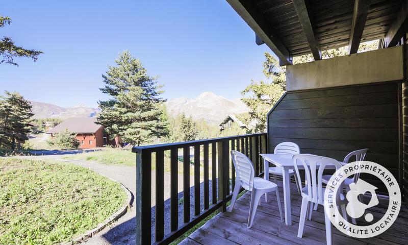 Wakacje w górach Apartament 2 pokojowy 6 osób (Confort 35m²) - Résidence les Chalets D'aurouze - Maeva Home - La Joue du Loup - Na zewnątrz latem