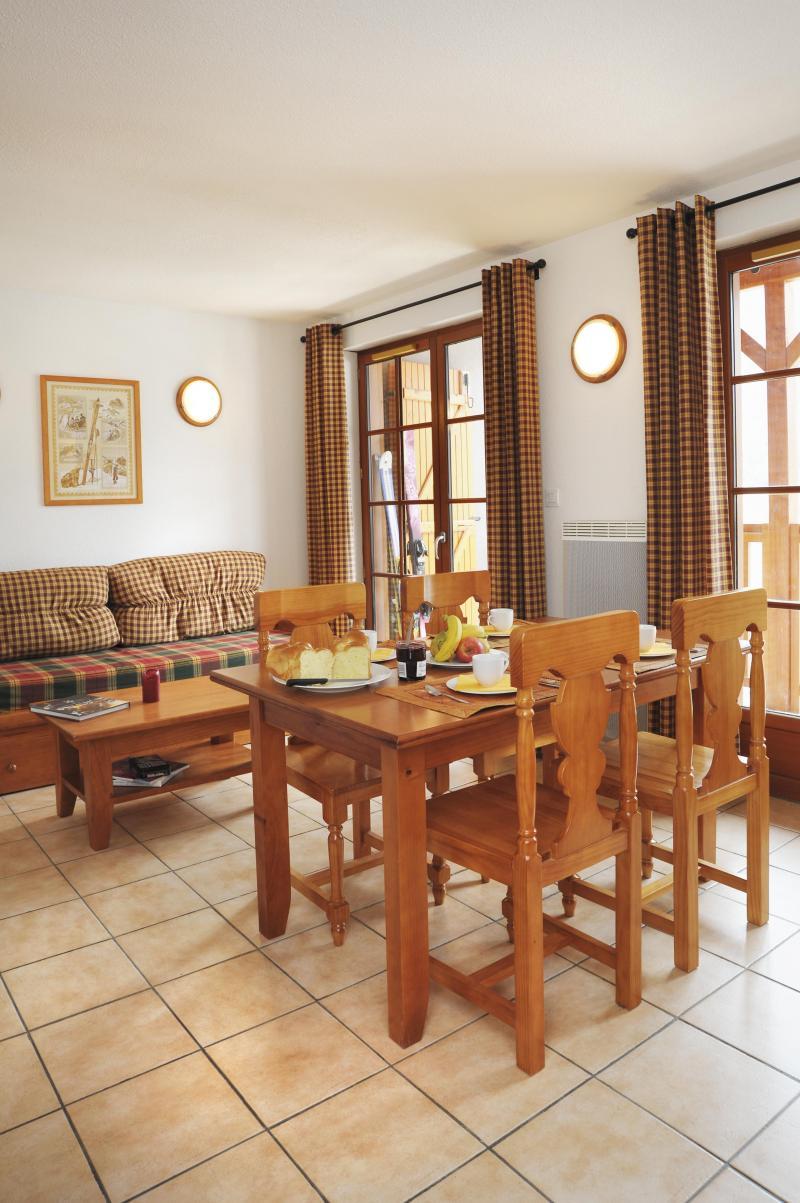 Urlaub in den Bergen Résidence les Chalets d'Estive - Cauterets - Esszimmer