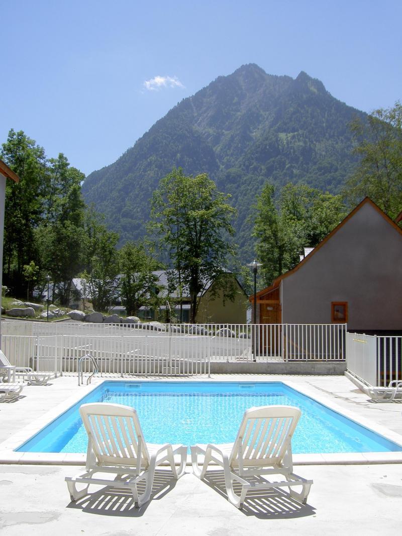 Vacances en montagne Résidence les Chalets d'Estive - Cauterets - Piscine