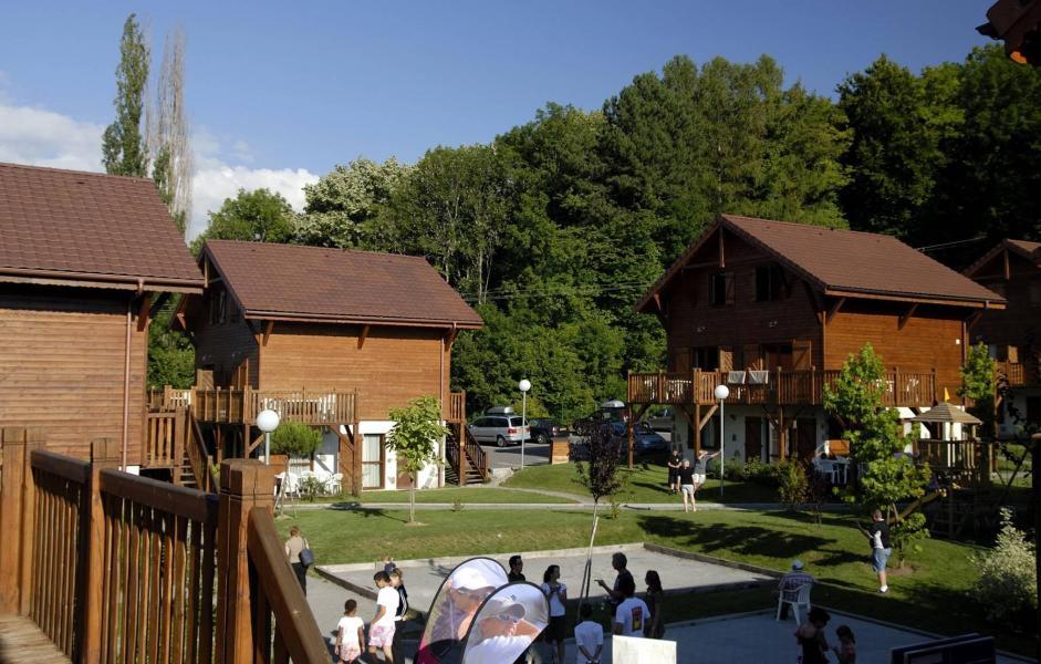 Location au ski Résidence les Chalets d'Evian - Thollon les Memises - Extérieur été