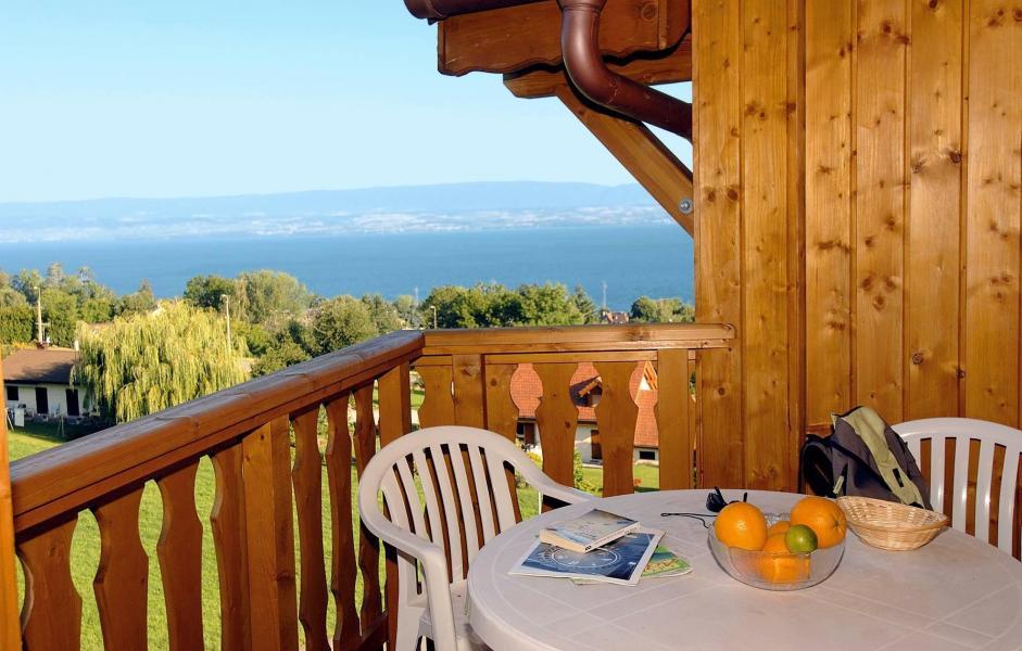 Vacances en montagne Résidence les Chalets d'Evian - Thollon les Mémises - Balcon