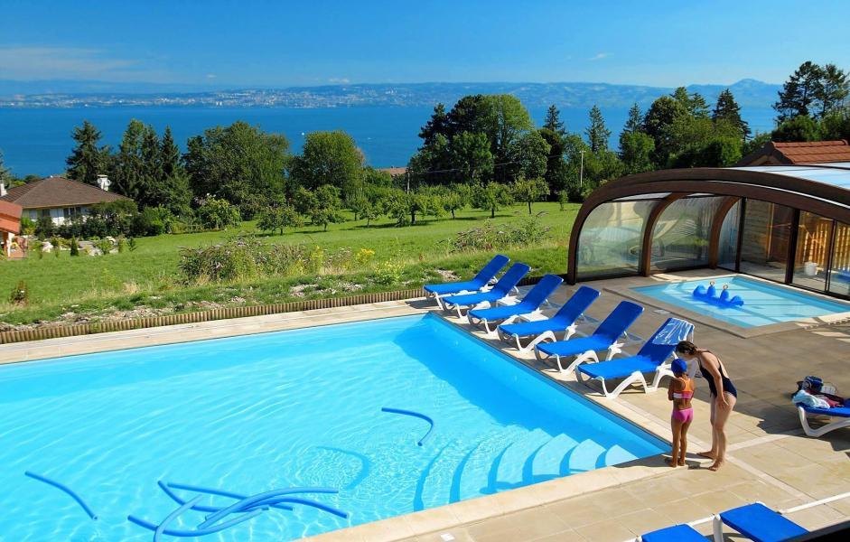 Vacances en montagne Résidence les Chalets d'Evian - Thollon les Mémises - Piscine