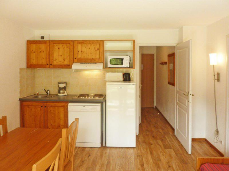 Holiday in mountain resort 2 room apartment 4 people (809) - Résidence les Chalets de Bois Méan - Les Orres - Kitchenette