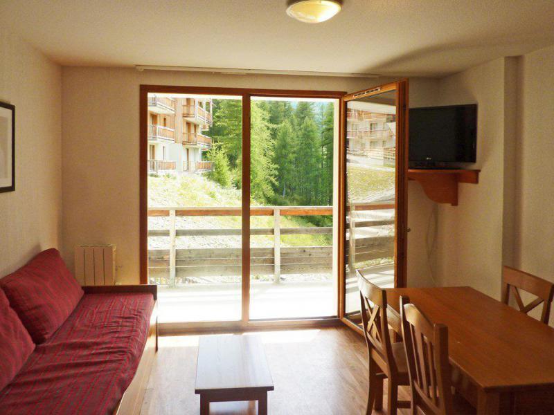 Holiday in mountain resort 2 room apartment 4 people (809) - Résidence les Chalets de Bois Méan - Les Orres - Living room