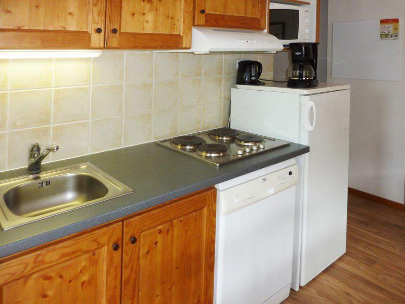 Holiday in mountain resort 2 room apartment sleeping corner 6 people (804) - Résidence les Chalets de Bois Méan - Les Orres - Kitchenette