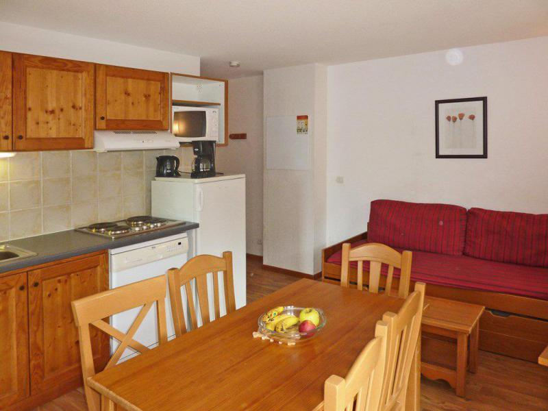 Holiday in mountain resort 2 room apartment sleeping corner 6 people (804) - Résidence les Chalets de Bois Méan - Les Orres - Living room