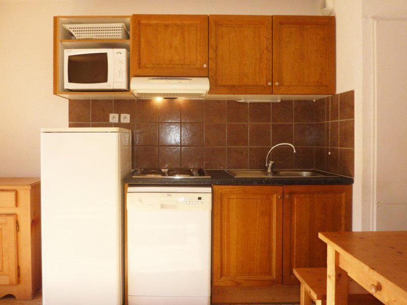 Holiday in mountain resort 3 room duplex apartment 6 people (807) - Résidence les Chalets de Bois Méan - Les Orres - Kitchenette