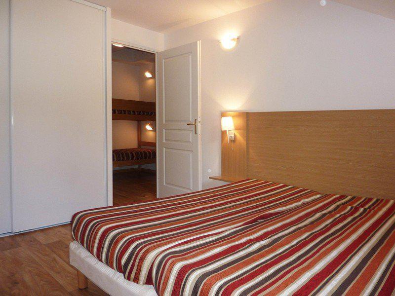 Holiday in mountain resort 3 room duplex apartment sleeping corner 8 people (801) - Résidence les Chalets de Bois Méan - Les Orres - Bedroom