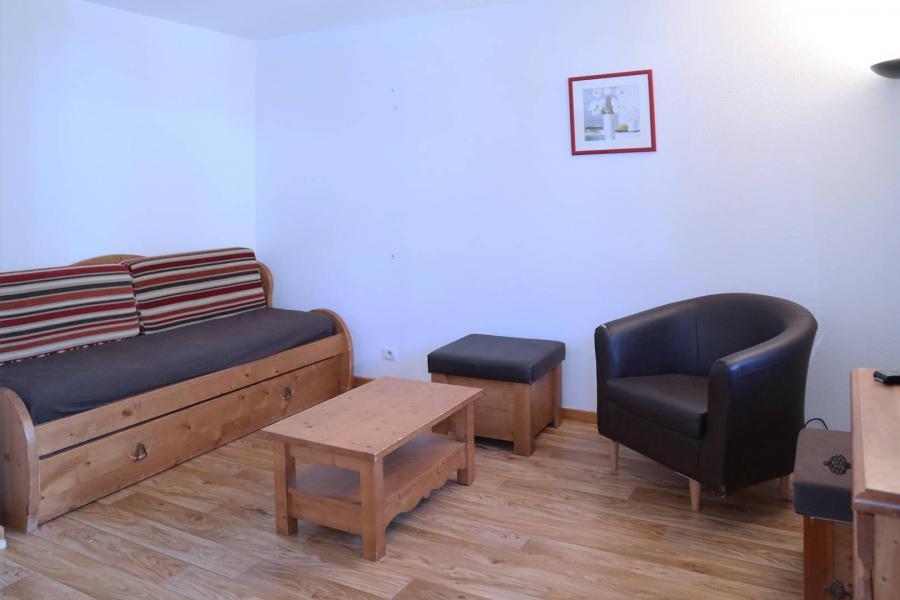 Holiday in mountain resort 3 room duplex apartment sleeping corner 8 people (801) - Résidence les Chalets de Bois Méan - Les Orres - Living room