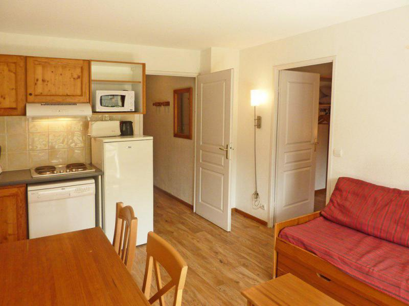Wakacje w górach Apartament 2 pokojowy 4 osób (809) - Résidence les Chalets de Bois Méan - Les Orres - Rozkładaną sofą