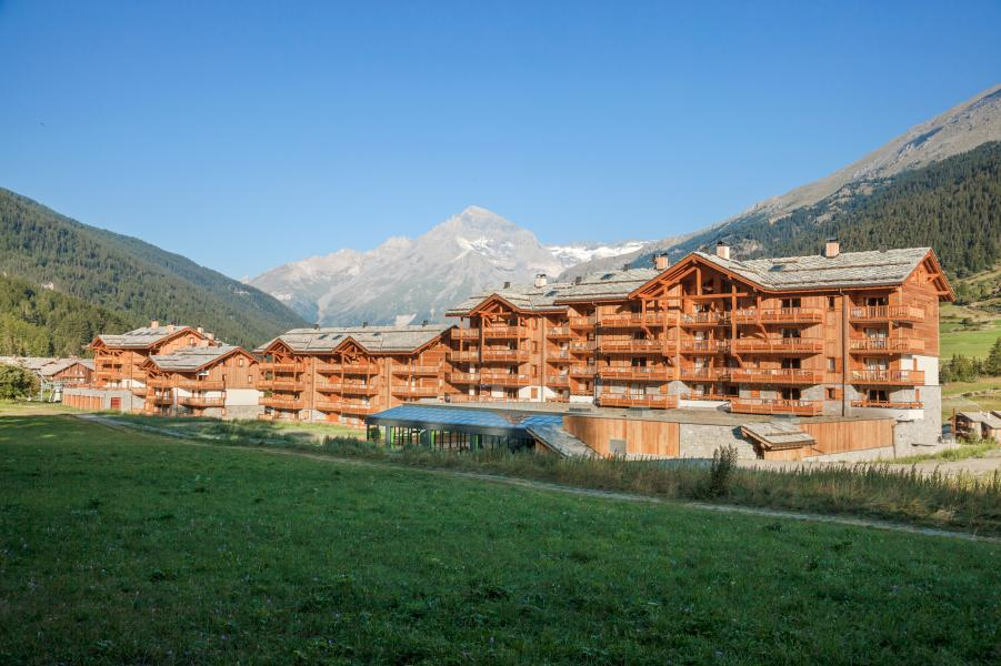 Urlaub in den Bergen Résidence les Chalets de Flambeau - Val Cenis - Draußen im Sommer