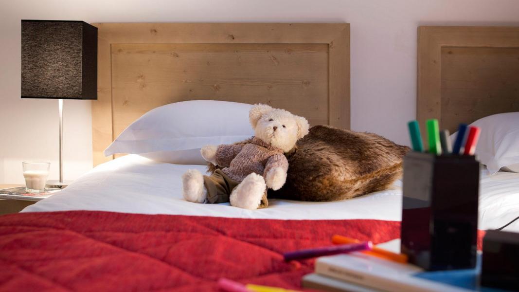 Urlaub in den Bergen Résidence les Chalets de Flambeau - Val Cenis - Schlafzimmer