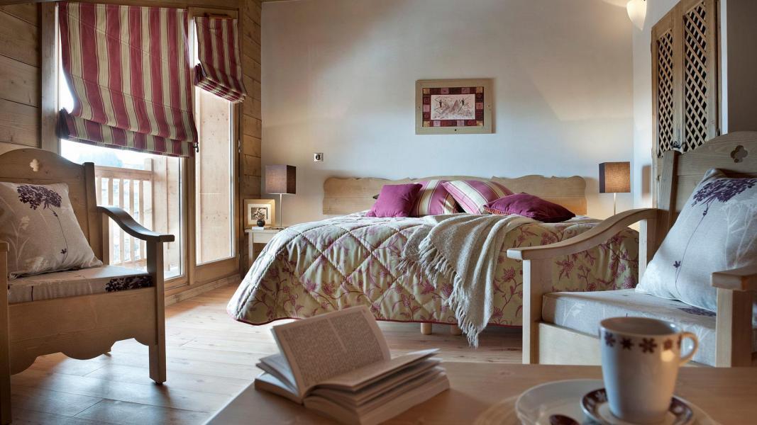 Vacances en montagne Résidence les Chalets de Jouvence - Les Carroz - Chambre