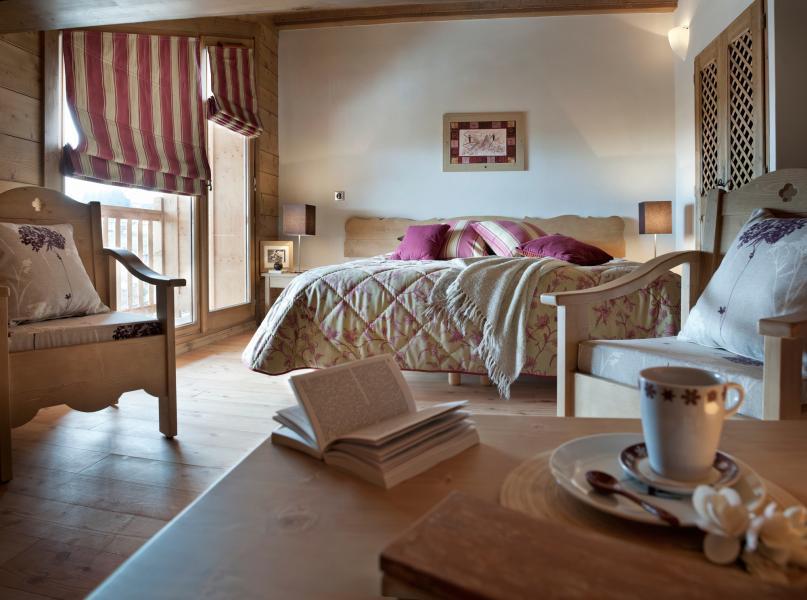 Vakantie in de bergen Résidence les Chalets de Jouvence - Les Carroz - Kamer