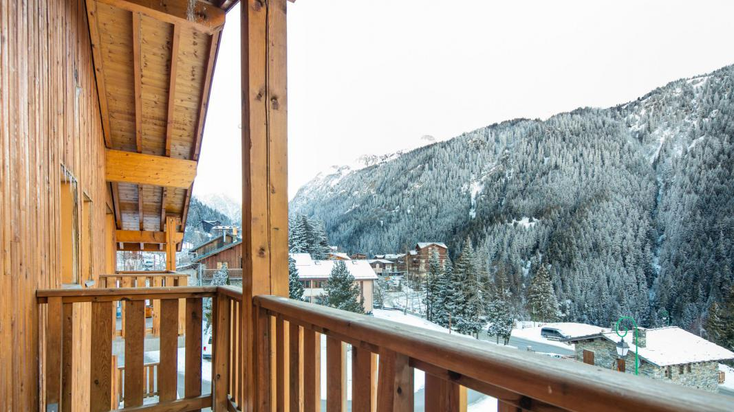 Urlaub in den Bergen Résidence les Chalets de la Ramoure - Valfréjus - Balkon