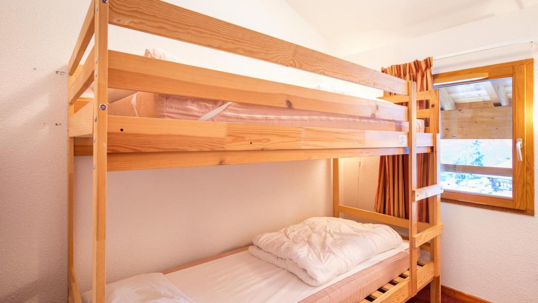 Urlaub in den Bergen Résidence les Chalets de la Ramoure - Valfréjus - Offener Schlafbereich