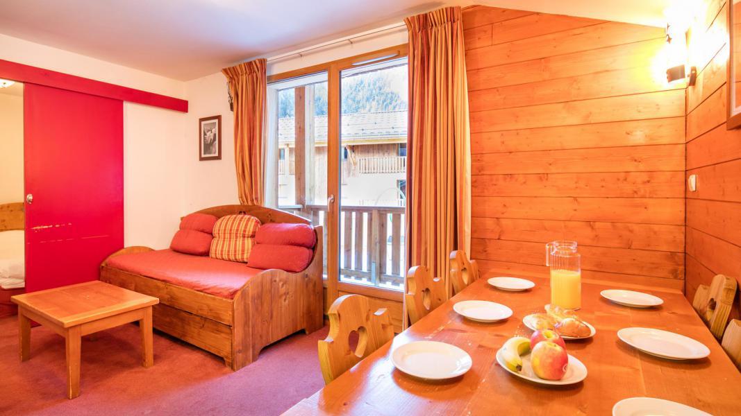 Vacances en montagne Résidence les Chalets de la Ramoure - Valfréjus - Séjour